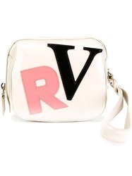Roger Vivier Cube Clutch Bag Nude And Neutrals