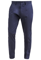 Uniforms For The Dedicated Badlands Trousers Dark Navy Twill Dark Blue