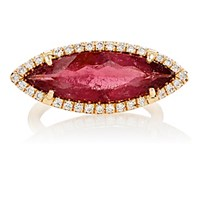 Irene Neuwirth Diamond Collection Women's White Diamond And Pink Tourmaline Ring Red Purple No Color Red Purple No Color
