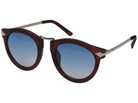 Neff Sweep Shades Maroon Sport Sunglasses Red