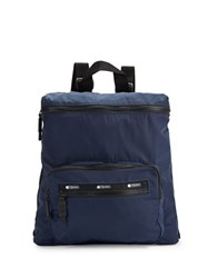 Le Sport Sac Striped Backpack Navy