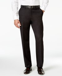 Sean John Black Texture Classic Fit Pants