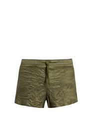 Satisfy Long Distance Technical Shorts Green