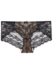 Myla Nicole Black Lace Hipster Briefs