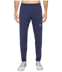Nike Otc65 Track Running Pant Midnight Navy Reflective Silver Men's Workout Blue