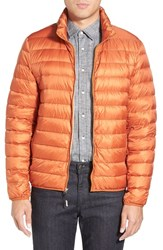 Men's Tumi 'Pax' Packable Quilted Jacket Mandarin