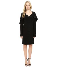 Norma Kamali Side Snap Dress To Knee Black Women's Dress