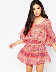 Juicy Couture Paisley Print Beach Cover Up Azalea681