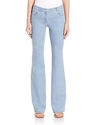 Michael Kors Techno Flared Jeans Sky Blue