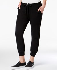 Material Girl Active Juniors' Cropped Sweatpants Only At Macy's Black
