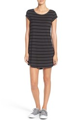 Rip Curl Women's 'Nightline' Stripe T Shirt Dress