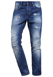 Scotch And Soda Ralston Slim Fit Jeans The Double Blue Denim