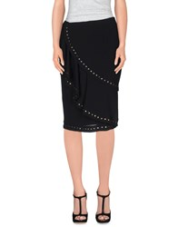 Moschino Skirts Knee Length Skirts Women Black