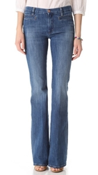 Mih Jeans Marrakesh High Rise Flare Jeans Sugar Blue