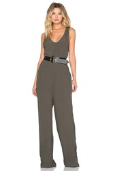 Knot Sisters Jude Jumpsuit Olive