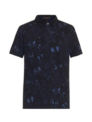 Valentino Camo Butterfly Polo Shirt