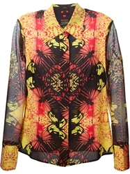 Jean Paul Gaultier Vintage Kaleidoscope Print Shirt Yellow And Orange