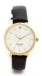 Kate Spade Classic Metro Watch Gold Black