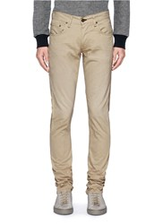 Rag And Bone 'Fit 2' Brushed Cotton Twill Pants Neutral