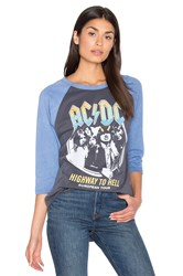 Junk Food Acdc Highway To Hell Tee Gray