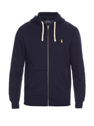 Polo Ralph Lauren Zip Up Cotton Blend Hooded Sweatshirt