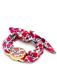 Flowers Of Liberty Wiltshire Liberty Print Knot Watch