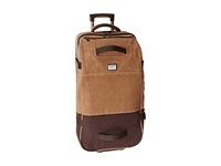 Burton Wheelie Double Deck Beagle Brown Waxed Canvas Duffel Bags