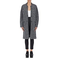 Atm Anthony Thomas Melillo Women's Kimono Overcoat Dark Grey