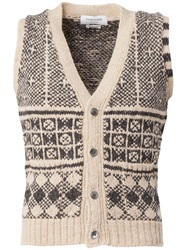 Thom Browne Buttoned Knit Vest