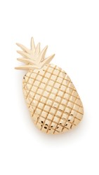 Mrs. President And Co. Pineapple Barrette Gold