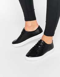 Sixty Seven Sixtyseven Irma Black Lace Up Trainers Black