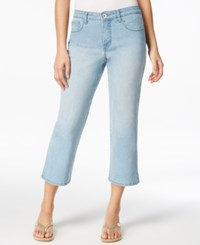 Styleandco. Style And Co. Rhinestone Jazz Wash Cropped Jeans Only At Macy's