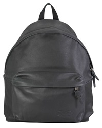 Eastpak Authentic Leather Padded Pak'r Black Rucksack