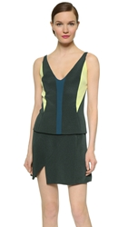 Narciso Rodriguez Colorblock Tank