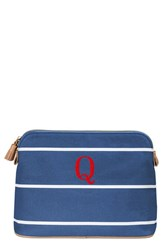 Cathy's Concepts Personalized Cosmetics Case Blue Q