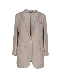 Peserico Suits And Jackets Blazers Women Beige