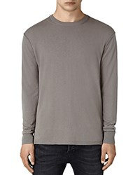 Allsaints Dayce Crewneck Sweater Military Gray