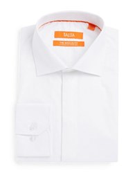 Tallia Orange Cotton Dress Shirt White