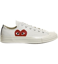 Comme Des Garcons Converse 70S X Play Cdg Trainers Beige