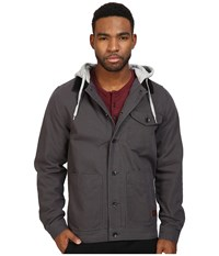 Vans Prentice Jacket New Charcoal Men's Coat Gray