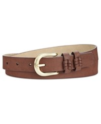 Inc International Concepts Double Keeper Whipstitch Belt Only At Macy's