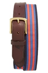 Vineyard Vines Men's Edgartown Stripe Belt