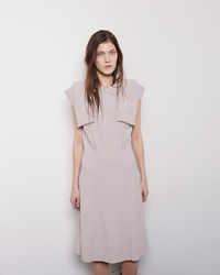Maison Martin Margiela Line 4 Ribbons Dress Lavender