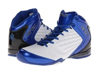 And 1 Master 2 Mid White Royal Black Men's Basketball Shoes