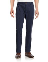 Brooks Brothers Stretch Cotton Chinos Blue