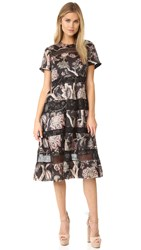 Zimmermann Lavish Bell Midi Dress Floral