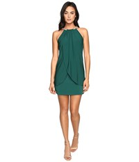 Jessica Simpson Ity Dress With Embellished Halter Necklace Emerald Women's Dress Green