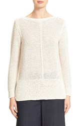 Lafayette 148 New York Women's Mixed Stitch Sweater