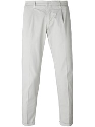 Fay Slim Fit Trousers Nude And Neutrals