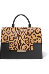 Aerin Leopard Print Calf Hair And Leather Tote Leopard Print